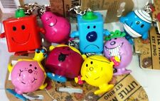 Mr Greedy, Little Miss Chatterbox  Princess Naughty 3D Keyrings
