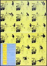 Six Million Dollar Man Steve Austin década de 1970 Cartel. Bionic. 8 A