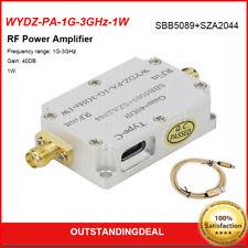 Wydz Pa 1g 3ghz 1w Microwave Power Amplifier Rf Power Amplifier 1g 3ghz 40db