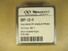 Newport  BRP-15-A  Valumax RT-Angle Prism  15.0mm  BK 7  Alum Coated Hypo