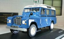 Véhicules miniatures bleus WhiteBox