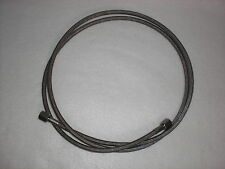 "1/4"" Braided Stainless ptfe 72"" long line , closed loop extractor, Butane 710"