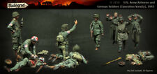 1:35 US Airborne Operation Varsity World War 2 (WW2) 10 Figures Resin Model Kit