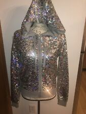 Victoria's Secret Pink Fashion Show Exclusive 2013 Bling Sequin Hoodie Small NWT