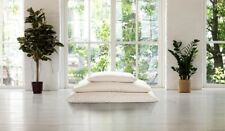TWO Merino Wool filled Pillow & removable 100% Organic Cotton Cover Bed Pillows