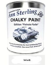 Kreidefarbe Shabby Chic 1Kg Holz Farbe Lack Möbellack Antik Möbel Vintage Wei�Ÿ