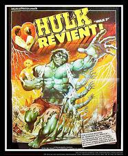 HULK Lou Ferrigno VERY RARE 9x12 ft Giant Billboard Original Movie Poster 1979