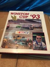 1993 NASCAR  Winston Cup Yearbook with original box  UMI Publications