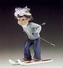 Lladro 5136 *Sport Billy Skier *Perfect