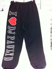Jersey Shore I Love Heart Dj Pauly D Tracksuit Pants Trackies Italian Small New