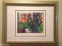 """PICASSO """"PITCHER WITH A BOWL OF FRUITS"""" Limited Edition Lithograph #46 of 500"""
