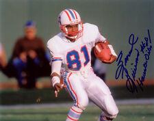 Ernest Givins Houston Oilers Football SIGNED 8x10 Photo COA!