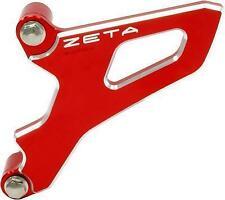 Zeta Drive Cover Red Anodized Aluminum Case Saver Honda ZE80-9015