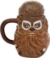 Vandor Star Wars Chewbacca 20 oz. Ceramic Sculpted Coffee Soup Mug