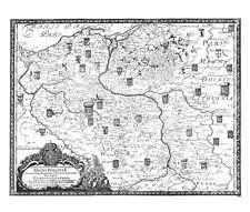 Antique map, Auctior et Correctior Tabula Chorographica Regni Poloniae …