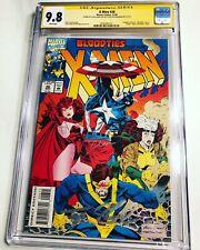 CGC 9.8 SS X-Men #26 signed Chris Evans & Tye Sheridan Captain America Cyclops