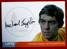 UFO - MICHAEL JAYSTON as Russell Stone - VERY LIMITED Autograph Card MJ2