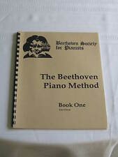 Beethoven Society for Pianists The Beethoven Piano Method Book One First Edition