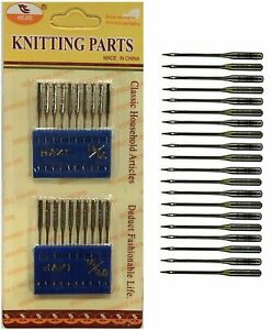 Sewing Machine Needles - UNIVERSAL 90/14 100/16 Fits All Brands - UK