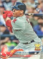 2018 Topps Series 1 Rafael Devers RC Rookie Card #18 Boston Red Sox