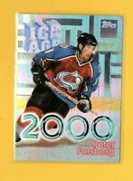 39583 PETER FORSBERG 1998/99 TOPPS ICE AGE 2000 AVALANCHE CARD #I8