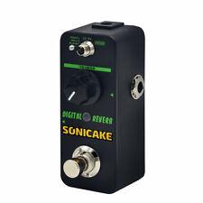 Sonicake Digital Reverb Mini Guitar Effects Pedal True Bypass Qss-06