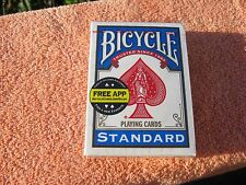 "Bicycle Standart Playing Cards 1 Deck Unused ""free App"""