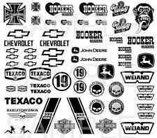 1:64  Black & White Favourites #3 WATER-SLIDE DECALS FOR HOT WHEELS