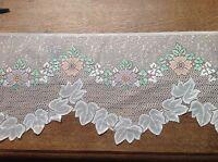 brise bise cantonnière rideaux à décor vendu au mètre B16