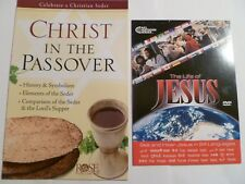 """ROSE PUBLISHING """"CHRIST IN THE PASSOVER"""" 14 PAGE PAMPHLET+""""JESUS FILM"""" DVD-NEW!"""