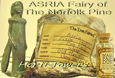 The Iron Fairies ASRIA (bagged) Fairy of The Norfolk Pine +2x FREE Fingr Puppets