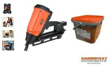 KMR D34/90-G641E CORDLESS GAS 1st FIX FRAMING NAILER WITH 90MM NAILS