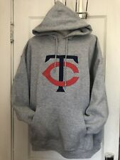 Minnesota Twins Mens XL Hooded Sweatshirt MTW Supper Soft!