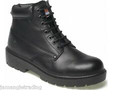 Mens Dickies Antrim Safety Work BOOTS Black Size UK 11 EU 45 Fa23333