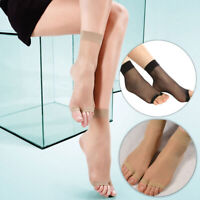 Women Ultrathin Open Toe Socks Mid-Ankle Invisible Stocking Foot Care Socks UK