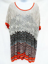BCBG MAX AZRIA Womens Silk Thin Knit Sweater Pullover OS One Size S M L XL