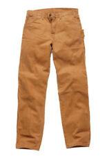 Pantalones de hombre marrón, talla 36