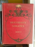 Akademische Neuausgabe der Clavier-Sonaten von L. van Beethoven Band 3 Litolff