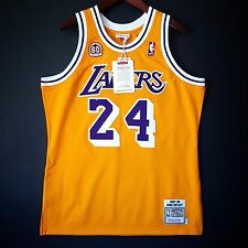 100% Authentic Kobe Bryant Mitchell Ness 60th Anniversary Lakers Jersey Sz 44 L