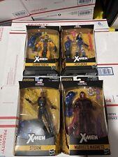 Marvel Legends Apocalypse baf Sealed, Nib, Sabretooth Psylocke Storm Magneto Lot