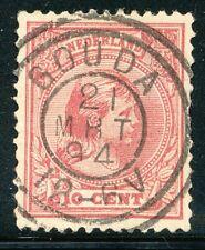 DUBBELRING GOUDA 21 MRT 94 OP NR. 37a (ZEGEL HEEFT GEBREKEN)   ZE995