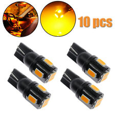 10x T10 921 High Power 5630 Chip Smd Led Yellow License Plate Light Bulb 12V Us (Fits: Neon)
