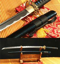 41' HANDMADE JAPANESE SWORD KATANA 1060 HIGH CARBON STEEL BLADE BLUE SAYA