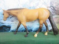 "3 * Peter Stone Traditional sized Dun  WP Quarter Horse ""Catawa 2 Sox"""