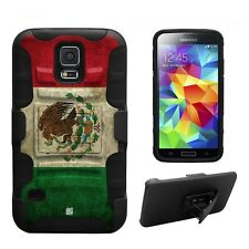 Beyond Cell Shell Case Armor Kombo For Samsung Galaxy S5 Mexican Flag Mexican...