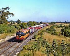PHOTO  IRISH RAILWAY - CIE LOCO NO  036 STRAFFAN 07.09.1991