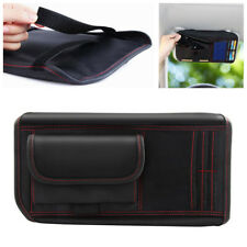 1X Car Sun Visor Receive Bag Storage Holder Organizer For IC Card Phone Sunglass