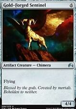 Gold-Forged Sentinel  x4 NM  Magic Origins  MTG Magic Cards Artifact Uncommon