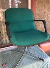 Vintage Steelcase Mid Century Modern  Knoll Pollack Style Office Swivel Chair