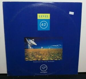 LEVEL 42 HEAVEN IN MY HANDS (NM) 12 INCH SINGLE VINYL RECORD